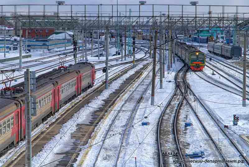 электричка, железная дорога