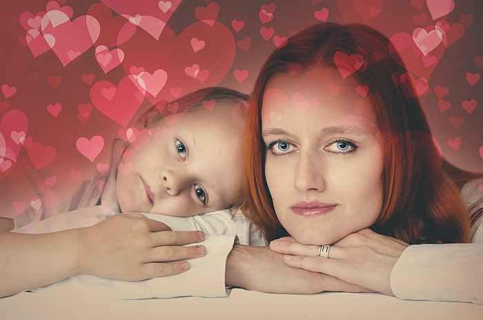 мама, дочка, ребёнок, семья